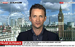 TV Interview on Sky News, discussing French diplomatic policy, 14 July 2017.