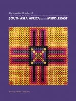 Article published: 'The Global Middle East in the Age of Speed: From Joyriding to Jamming, and from Racing to Raiding'.